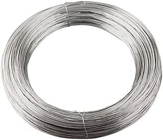 DQPP 100m acero cuerda de alambre 5mm galvanizado EN 12385-4 6x7+FC