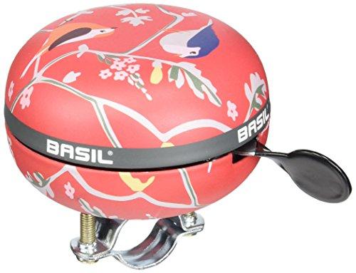 Basil Big Bell Wanderlust Fahrradklingel, Red, 80 mm