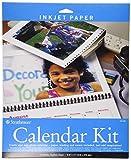 Strathmore 59-686 Inkjet Photo Calendar Kit, 8.5'x11'