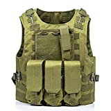 CHUNJIANGSHUI Airsoft Military Tactical Vest Kampf Angriff Platten-Fördermaschine Tactical Vest 7...