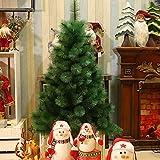 Arboles de Navidad Verde CLORURO DE POLIVINILO Nuevo pino artificial Pino Navidad Navidad pre-encendida Regal Spruce Multifunción Árbol de Navidad, 1.5m - 5 pies con puntas de soporte de metal Greentr