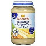 Alnatura Demeter Bio Pastinake-Kartoffel-Rind, glutenfrei, 6er Pack (6 x 190 g) -