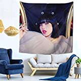 WTWT Tapiz para Dormitorio Blackpink Boutique Tapestry Soft Skin Friendly Durable Tapestry Home Decoration Tapestry Wall Hanging Art Room Decoration 59 X 59 Inches