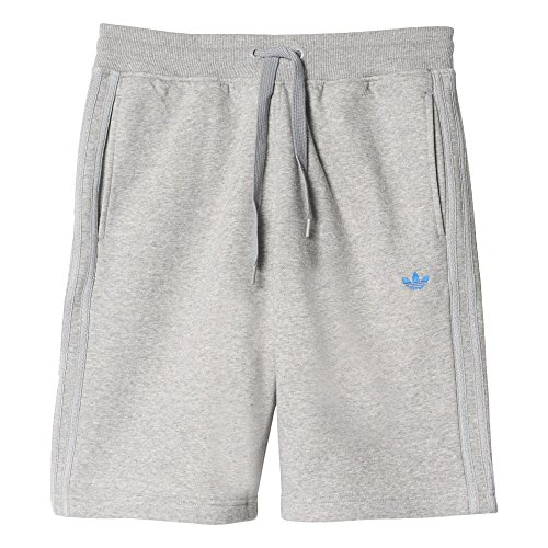 adidas Herren Shorts Classic FLE, Medium Grey Heather, XL