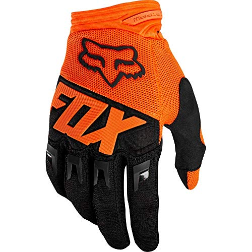 Fox Handschuhe Junior Dirtpaw Race, Orange, Größe YXS
