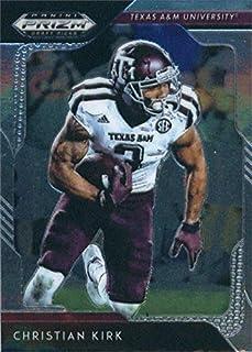 Christian Kirk football card (Texas A&M) 2019 Panini Prizm Draft #21