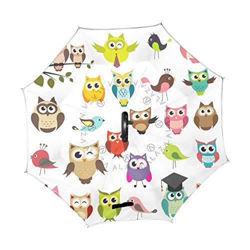 XiangHeFu Parapluie pour Cheval de Course /à Pied avec Ouverture Automatique 3 Plis l/éger Anti-UV