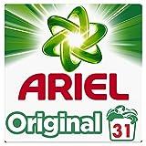 Ariel Detergente en Polvo para Lavadora, Original, 31 Lavados
