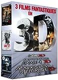 3 films fantastiques en 3D - Coffret - Saw 3D + Destination Finale 4 3D + Resident...