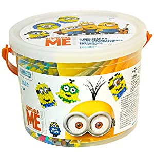 Perler Despicable Me Minions Craft Bead Bucket Activity Kit, 6005 pcs