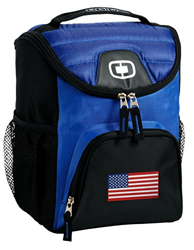 American Flag Lunch Bag Soft Cooler USA Flag Best Size Lunchbox