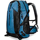 OutdoorMaster Hiking Backpack 45L - Travel Carry-On Backpack w/Waterproof Cover