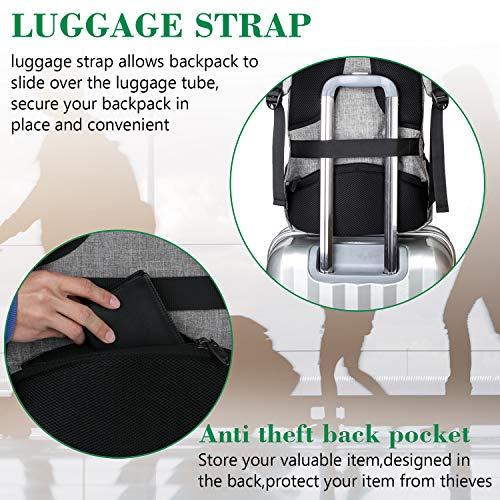 Water Resistant Travel Laptop Backpack