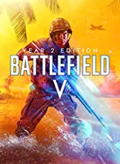 Battlefield V Year 2 Edition includes base game and 37 rewards: 17 Primary Weapons & 4 Vehicles 2 Epic Soldier Outfits 10 Weapon Skins 4 Vehicle Skins