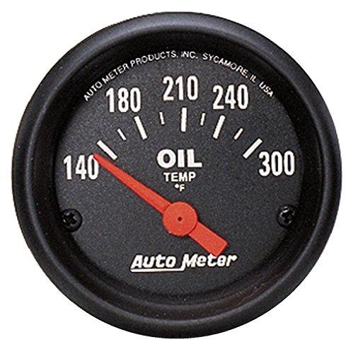 "AUTO METER 2639 Z-Series Electric Oil Temperature Gauge , 2 1/16"""