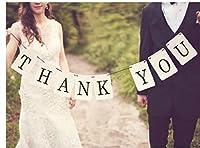 (ウエディングランド)WEDDINGLAND ガーランド THANK YOU 1.4 ウエディング グッズ 結婚式 小物 アイテム ウエディングフォト ステッカー バナー