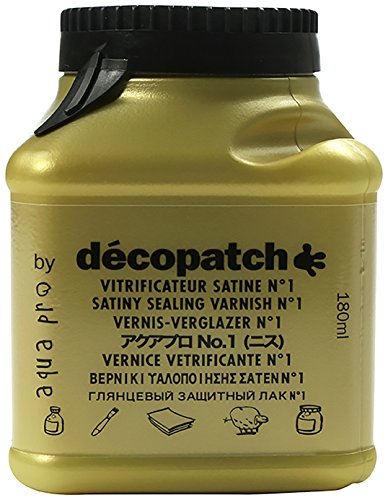 Decopatch Lack. satiniert 180 ml Gold