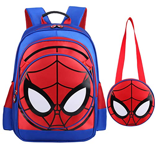 3D Spiderman Cartable école Primaire Enfants Sac à Dos Spider Man