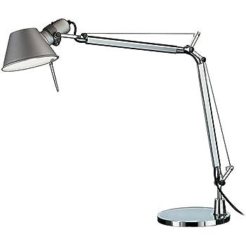 Artemide Tolomeo Mini Lampada Tavolo con Base Alluminio