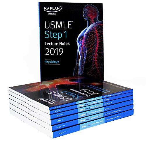 USMLE Step 1 Lecture Notes 2019:  7-Book Set (Kaplan Test Prep)