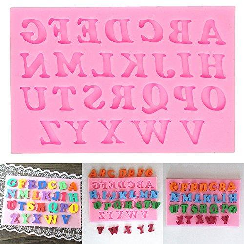 Bazaar Alfabet Letters Siliconen Fondant Cakevorm Chocolade Suikervorm