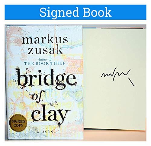 Bridge of Clay AUTOGRAPHED Markus Zusak (The Book Thief Author) SIGNED BOOK
