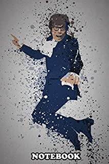 Notebook: Yeah Baby Splatter Effect Austin Powers , Journal for Writing, College Ruled Size 6