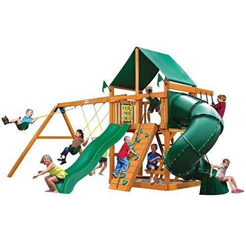 Gorilla Playsets 01-0005-AP-1 Mountaineer Wood Swing Set...