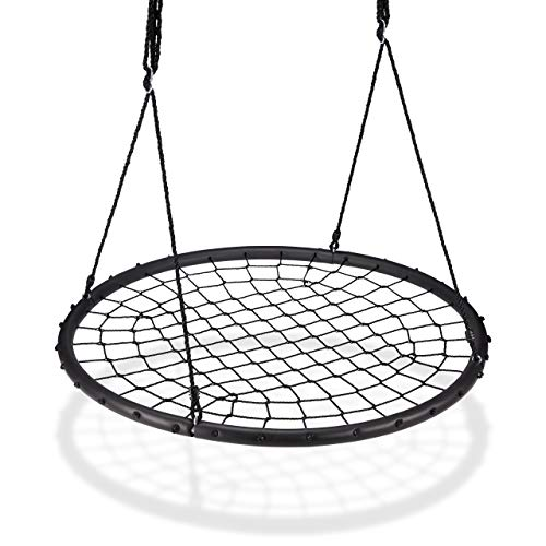 Relaxdays Nest Net, 120cm, Garden Swing for Children & Adults, For up to...