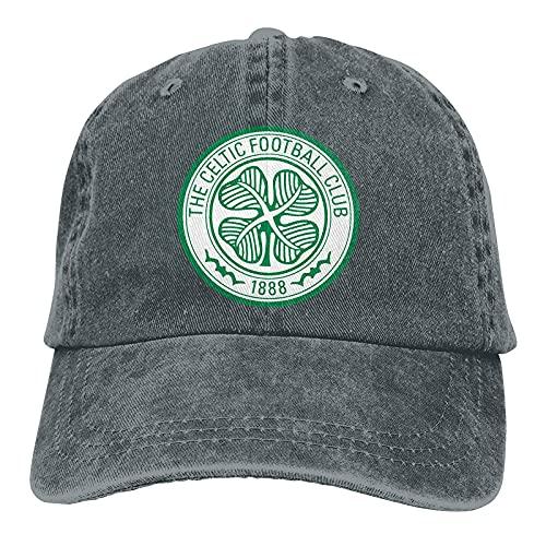 Glasgow Celtic Vintage Shield Men's Baseball Cap Athletic Relaxed Adjustable Cowboy Hat Performance Cap Navy