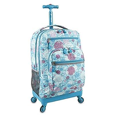 J World New York Sundance Laptop Rolling Backpack, Dandelion, One Size
