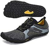 SAGUARO Hombre Mujer Zapatillas de Training Yoga Entrenamiento Gym Interior Transpirables Zapatos...