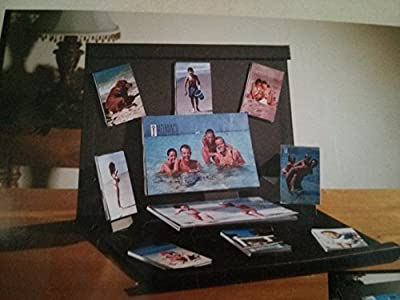 Black Wood Pop up Photo Album Desktop Frame Melannco