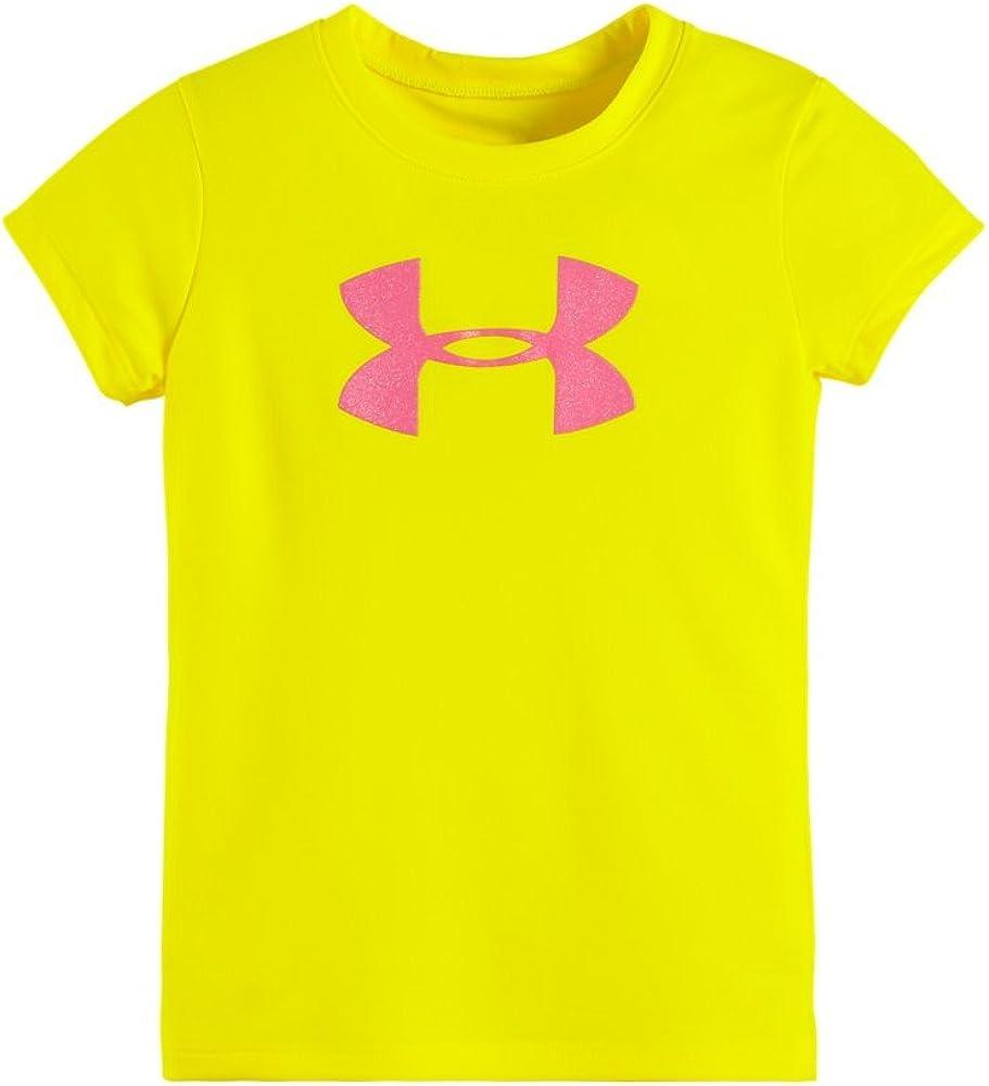 Under Armour Little Girls' Glitter Big Logo Tee