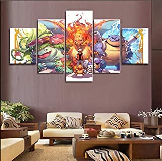 Best pokemon wall canvas Reviews