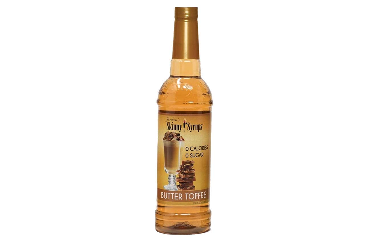 English Toffee- Jordan's Skinny Syrups FL 25.4 Free Mail order latest cheap OZ Sugar