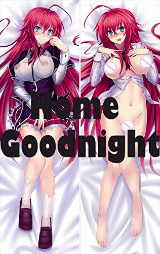 Home Goodnight High School DxD - Rias Gremory 2Way Tricot 150cm x 50cm(59in x 19.6in) 2-Wege-Trikot Kissenbezüge