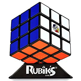 Rubik's Cube 6 This Original 3x3 Rubik's Cube is a must have for cube enthusiasts NOTE : These cube are suppose to be loose so that the consumer can solve them faster contains: 3x3 cube