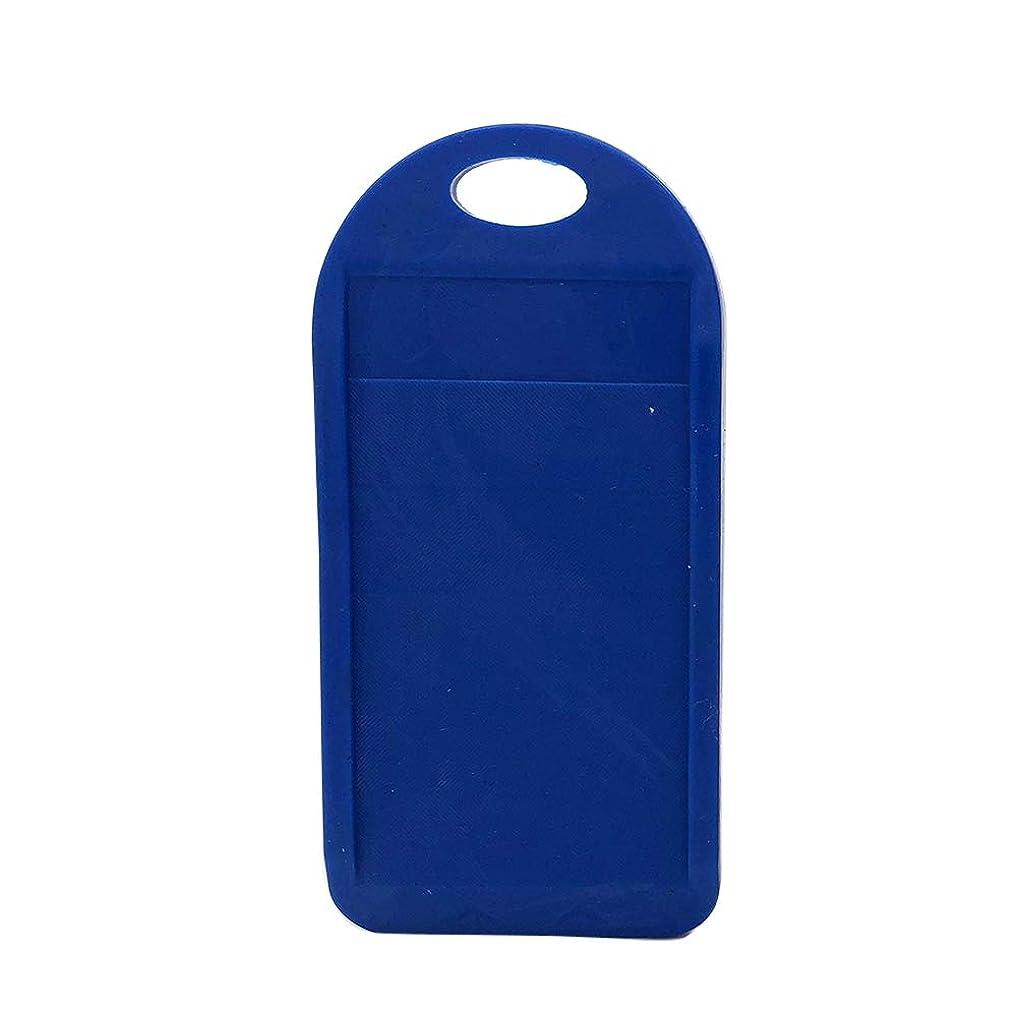 太陽安西マキシム男性用ブラック/ブルーのカートリッジブレードと鈍い使い捨てシェービングカミソリを削るかみそり刃削りツールキット(青)