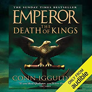 EMPEROR: The Death of Kings, Book 2 (Unabridged) cover art