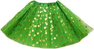 The Hair Bow Company Girl & Teen Gold Polka Dot Tulle Tutu Skirt 13