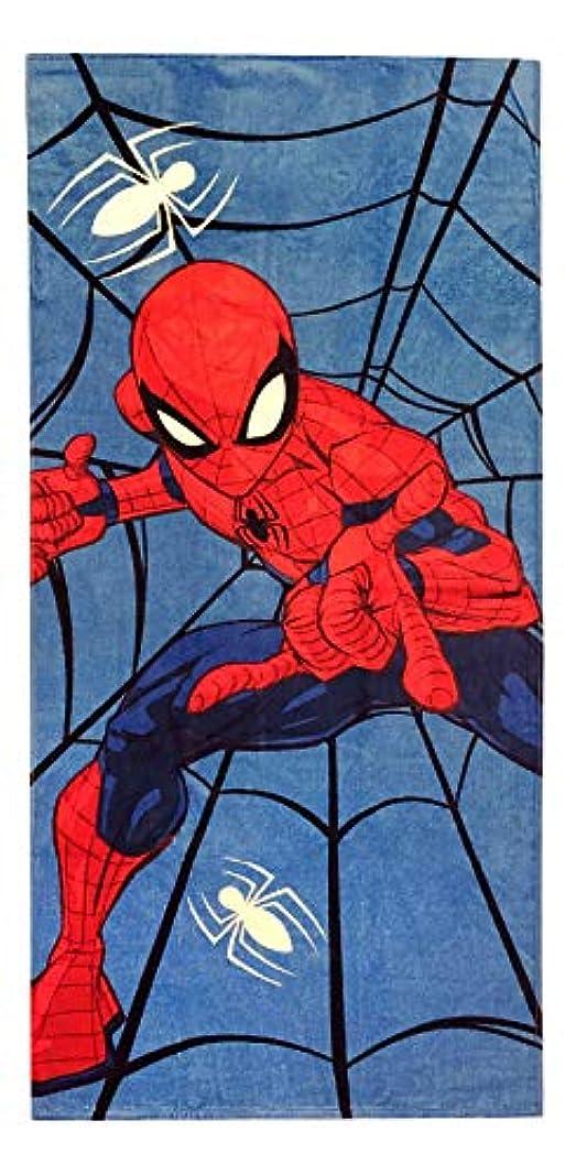 エステート枯れるマイルストーンBundlesGalore スパイダーマン コットン バス ビーチ プール タオル (28インチ x 58インチ)