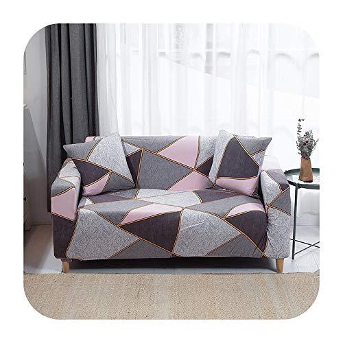 Funda elástica para sofá para sala de estar, antideslizante, elástica, funda de sofá seccional, en forma de L, funda para sillón de esquina de 1/2/3/4 plazas, 28-2 asientos, 145-185 cm