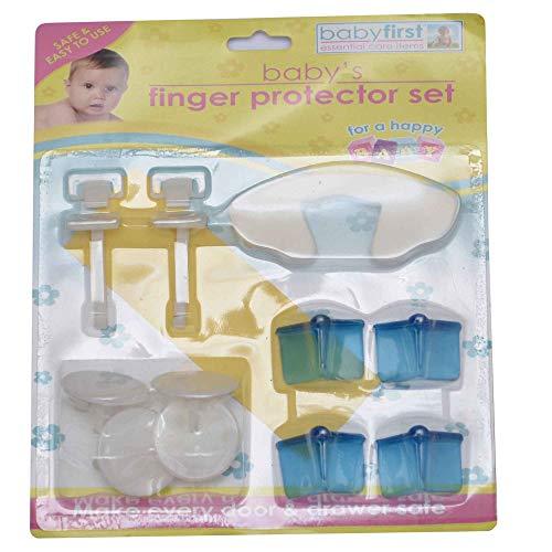 Lot de 11 prise de sécurité Protège Doigt Lot enfants bébé couvertures de coin de meuble
