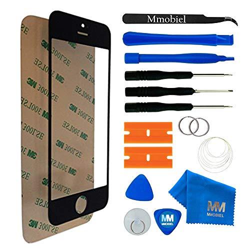 MMOBIEL Schermo tattile di Ricambio Compatibile con iPhone 5 5C 5S SE Series (Nero) incl Kit con Attrezzi