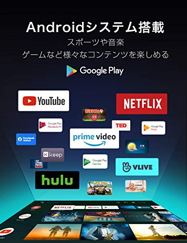 『TCL 55V型 4K液晶テレビ 55P815 Amazon Prime Video対応 スマートテレビ(Android TV) 4Kチューナー内蔵 Dolby Atmos 2020年モデル ブラック』の9枚目の画像