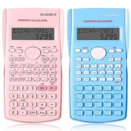 Calculadoras Científicas Portátiles Set de 2 Calculadoras...