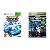 Sonic's All-Stars Racing Transformed - Xbox 360 & Sonic's Ultimate Genesis Collection (Platinum Hits) - Xbox 360
