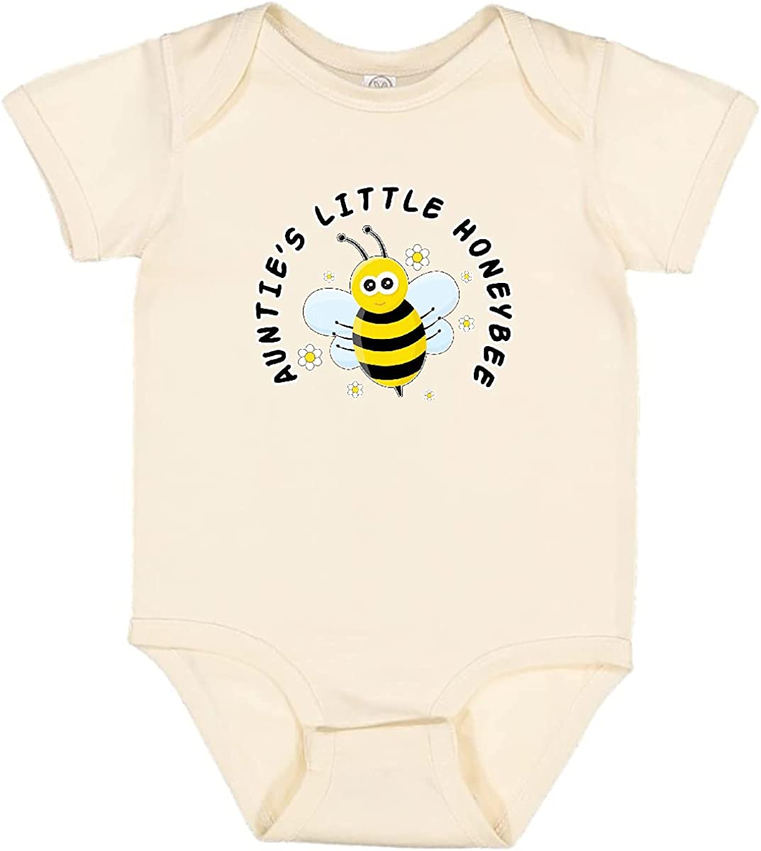 inktastic Today's only Auntie's Little Honeybee Creeper Max 54% OFF Infant