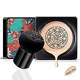 Mushroom Air Cushion CC Creme Feuchtigkeitsspendende Concealer Make-up-Basis Grundierung anhaltend warmen Hautton Nude Face natürliche Farbe
